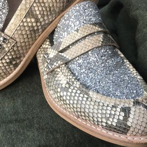 Slip ons with sparkle